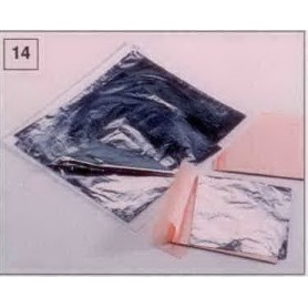 Feuilles d'aluminium libre format 140mm x 140mm