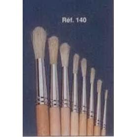 PINCEAU REF 140 N°8 brosse à tableau ronde soie blanche