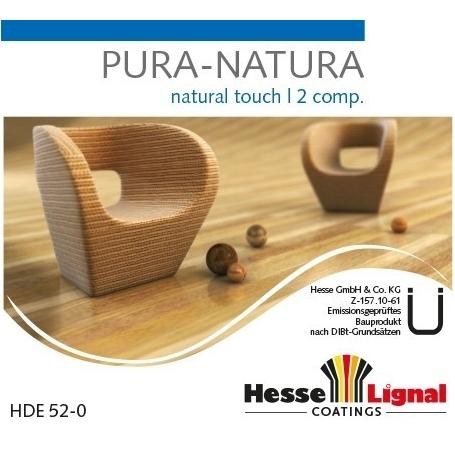 VITRIFICATEUR HYDRO PURA NATURA HESSE ULTRA MAT BICOMPOSANT X 4,5L