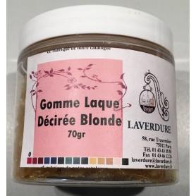 GOMME LAQUE DECIREE BLONDE Boite Petit Modèle 70GR
