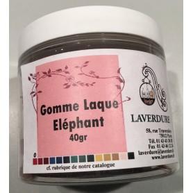 GOMME LAQUE ELEPHANT Boite Petit Modèle 40GR