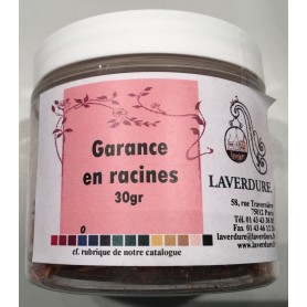 GARANCE EN RACINES Boite Petit Modèle 30GR