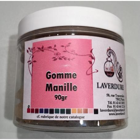 GOMME COPAL MANILLE Boite Petit Modèle 90Gr