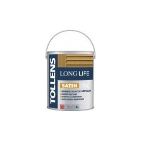 VERNIS LONG LIFE SATINE 3 Litres.
