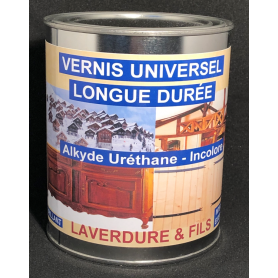 VERNIS UNIVERSEL ALKYDE BRILLANT x1 Litre