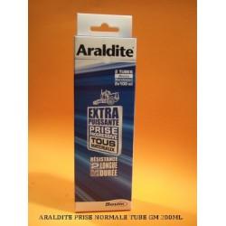 ARALDITE NORMALE (BLEUE) TUBE GM 2 X 100 ml (24 heures)