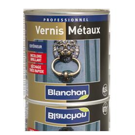 VERNIS METAUX INCOLORE BLANCHON Intérieur/Extérieur BRILLANT x 500ml
