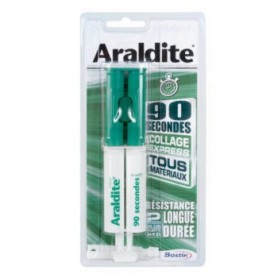 ARALDITE 90 SECONDES SERINGUE 24 ML