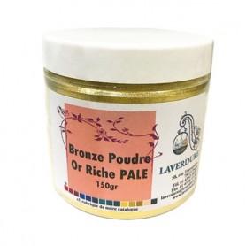 Bronze poudre or riche pâle