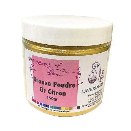 Bronze poudre or citron