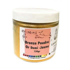 Bronze poudre or demi-jaune