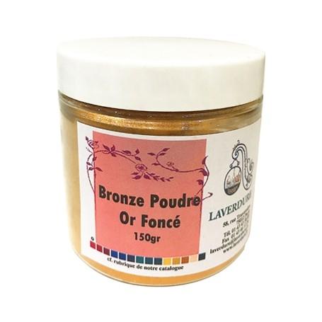 Bronze poudre or foncé