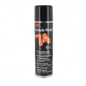 COLLE 3M74 SCOTCH-WELD SPECIALE MOUSSE EN AEROSOL 500ML