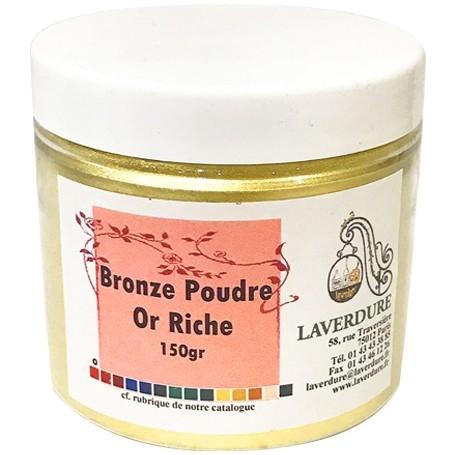Bronze poudre or riche