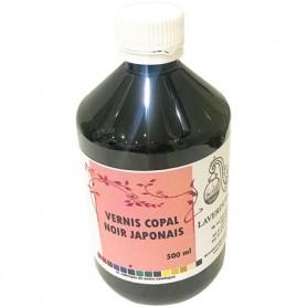 Vernis noir japonais