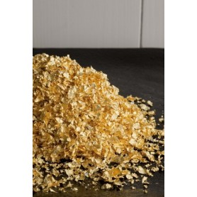 OR ALIMENTAIRE 23 CARATS EN PAILLETTES X 0.2GR