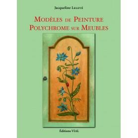 LIVRE MODELES DE PEINTURE POLYCHROME SUR MEUBLES