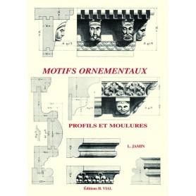 LIVRE MOTIFS ORNEMENTAUX PROFILS ET MOULURES