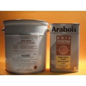 ARABOIS POUDRE 2.750KG. S'utilise avec l'Arabois Résine.