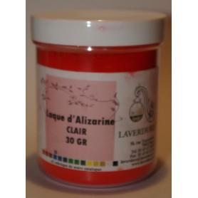LAQUE D'ALIZARINE CLAIRE Boite Petit Modèle 30GR