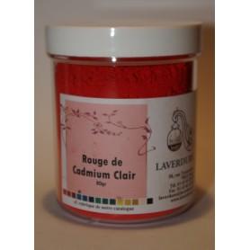 ROUGE DE CADMIUM CLAIR Boite Petit Modèle 80GR