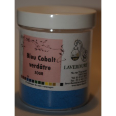 Bleu de cobalt verdâtre