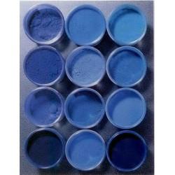 pigments bleus