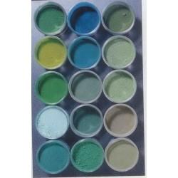 pigments verts