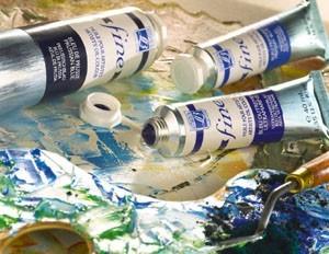 couleurs à l'huile