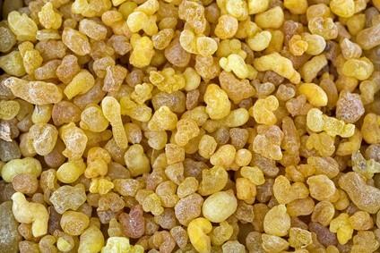 Gommes, résines & huiles