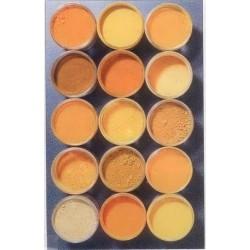 pigments jaunes