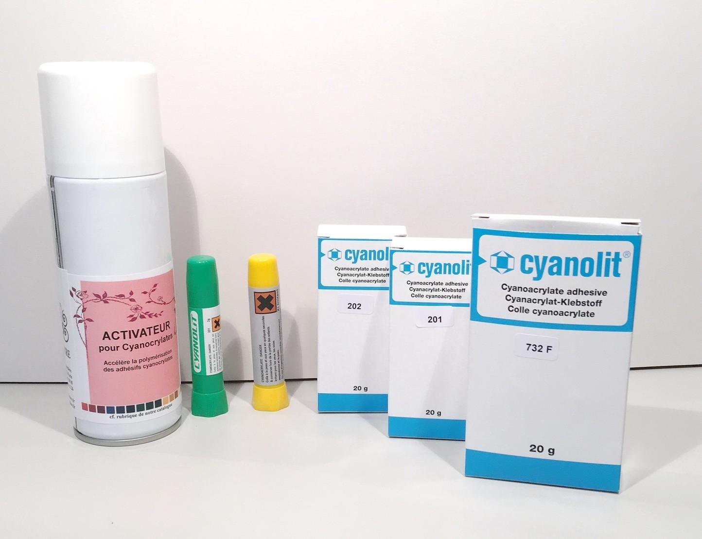colles cyanoacrylates