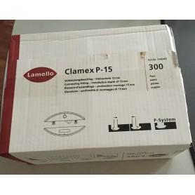 CLAMEX P15/P15-10 X 300 PAIRES
