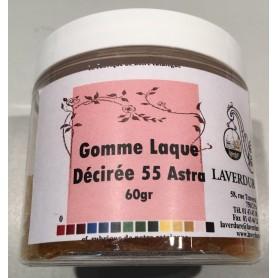 GOMME LAQUE DECIREE 55 ASTRA Boite Petit Modèle 60GR
