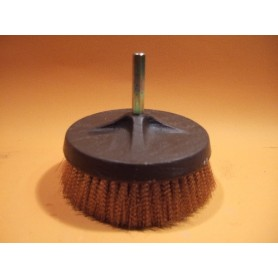 BROSSE N°13 RONDE A QUEUE EN BRONZE